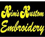 Kim's Kustom Embroidery